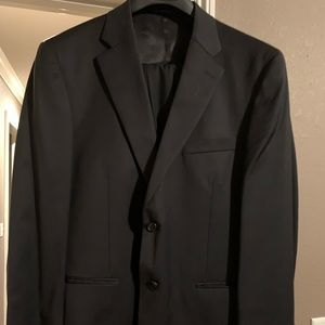 STAFFORD black suit jacket and pants